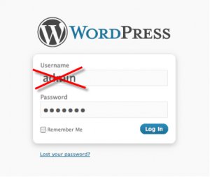 wordpress-admin-login