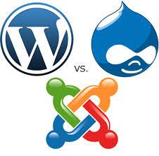 WordPress, Joomla, Drupal