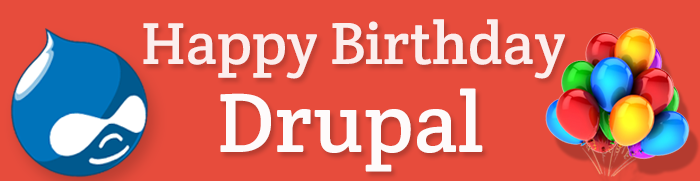 Happy Birthday Drupal