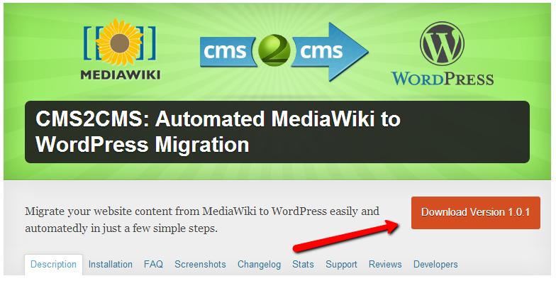 Migration-plugin-cms2cms