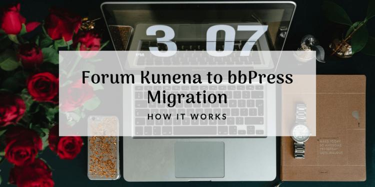 forum kunena to bbpress