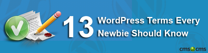 WordPress Terms for Newbies