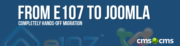 from e107 to Joomla