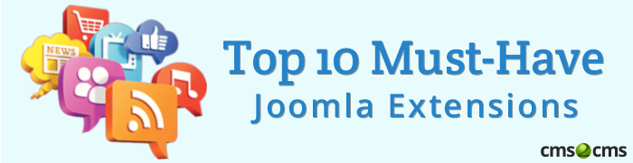 top 10 Joomla extensions