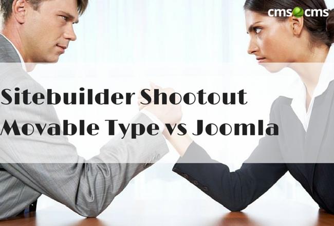 Sitebuilder Shootout. Movable Type vs