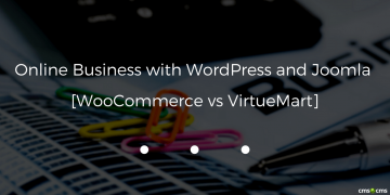 Online Business with WordPress and Joomla. WooCommerce vs VirtueMart