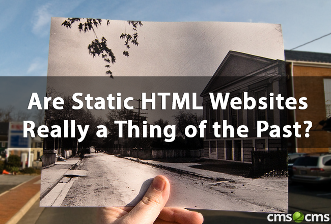 Are Static HTML Websites
