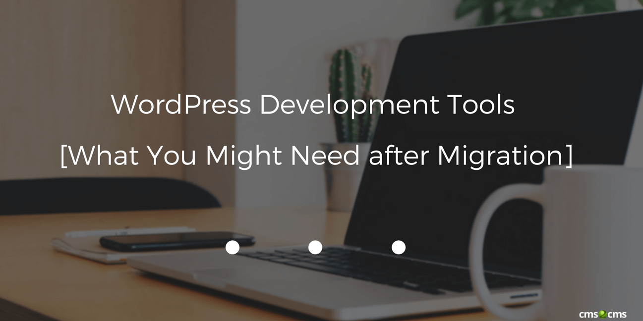 WordPress Development Tools [What You Might Need after Migration]