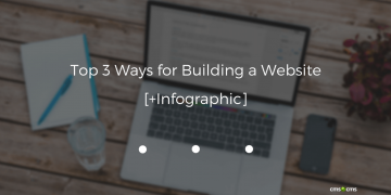 Top 3 Ways for Building a Website [+Infographic]