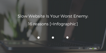 Slow Website Is Your Worst Enemy: 16 reasons [+Infographic]