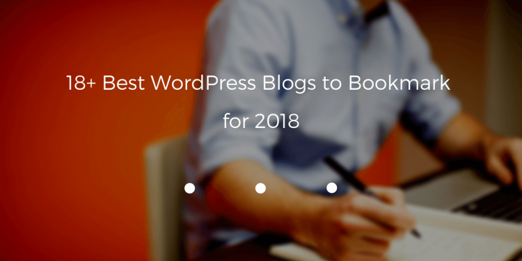 wordpress blogs to bookmark