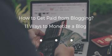 monetize a blog