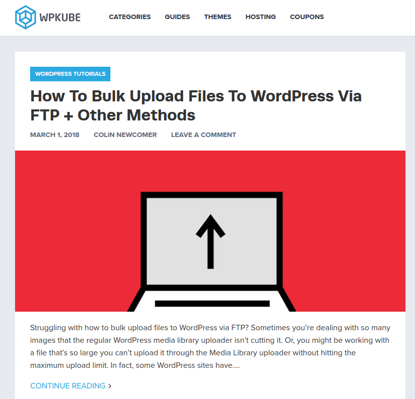 WPKube has a variety of WordPress guides which provides helpful content to those looking to work with WordPress. Besides that, it focuses on WordPress tips and tricks that can further assist WordPress users. In other words, it contains everything you need to know to keep yourself updated.
