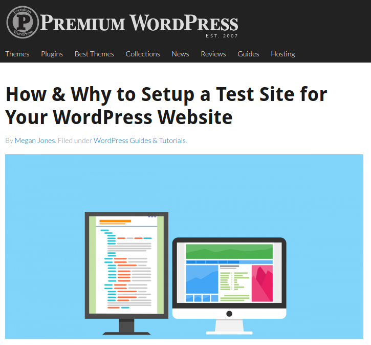 PremiumWP was established in 2007 to assist WordPress users in finding the best commercial (premium) WordPress themes, plugins and services. This blog also provides news, reviews, guides, and tutorials to help its readers build a premium WordPress website.
