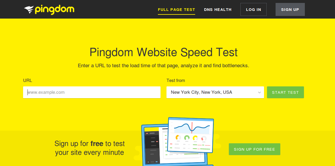 pingdom-5-most-promising-tools-for-testing-your-website-speed