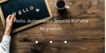 joomla kunena migration