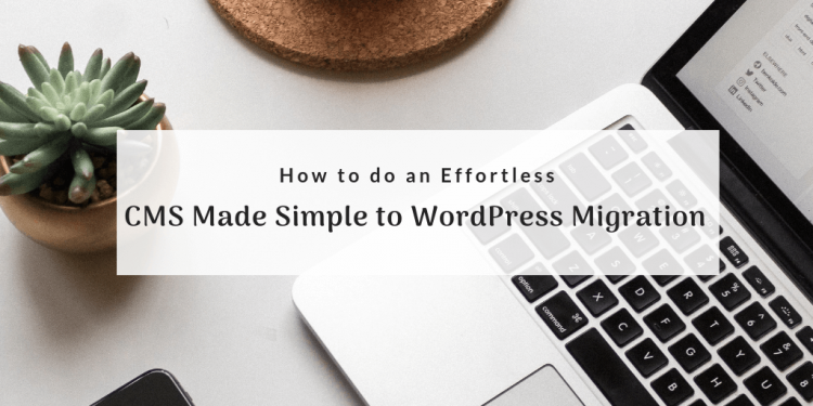 CMS Made Simple to WordPress