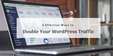double wordpress traffic