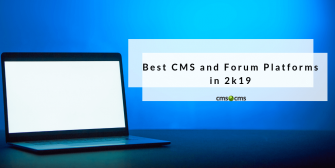 best cms and forums