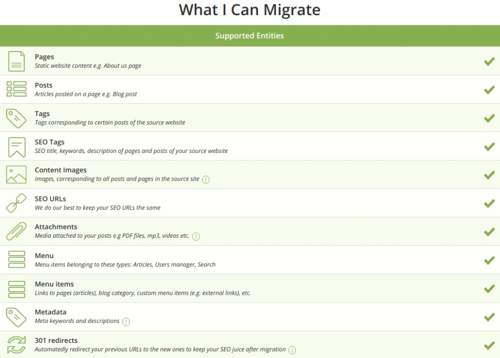 what can I migrate