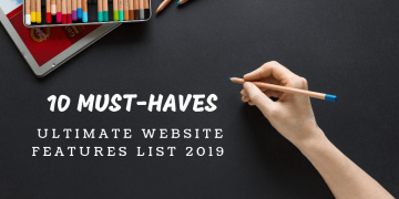 website features 2019