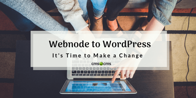 Webnode to WordPress