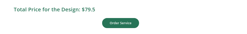 order service button