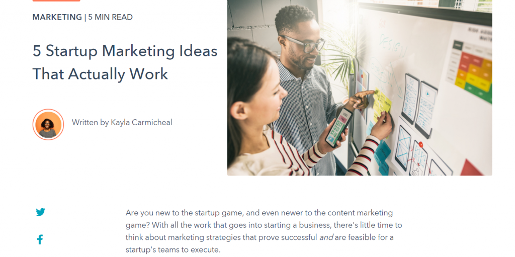 hubspot marketing ideas