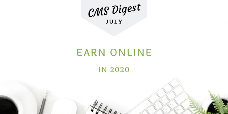 earn online in 2020