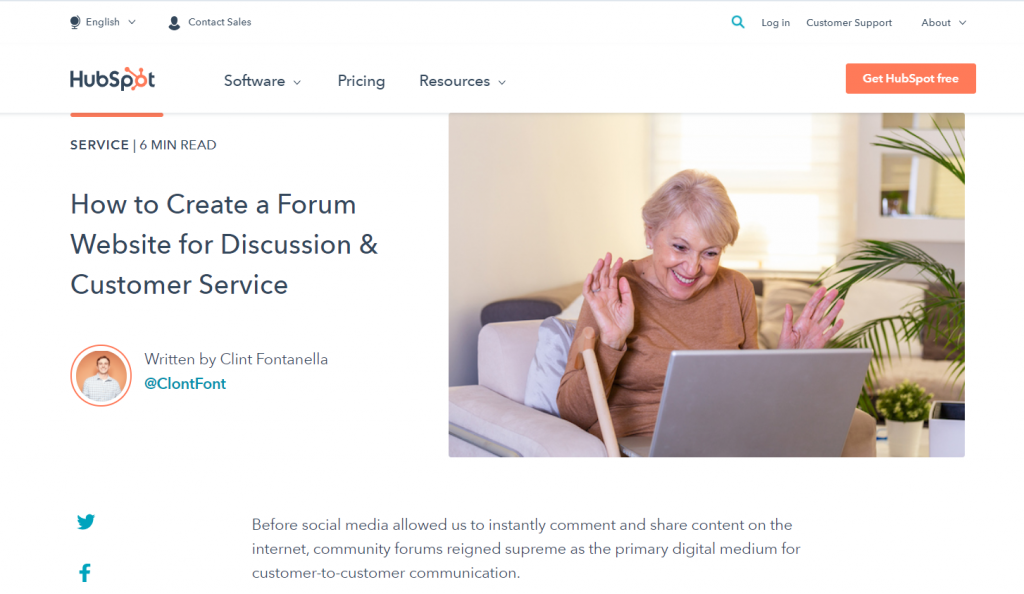 how to create a forum board