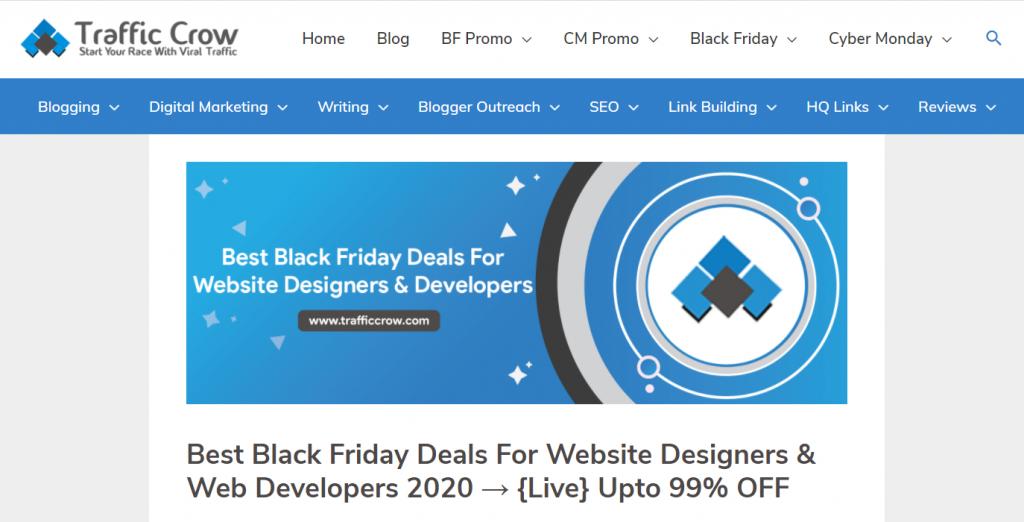 web designer black friday deals