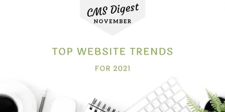 web trends 2021