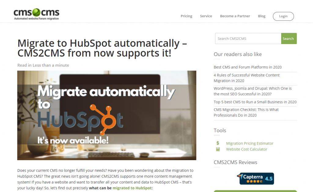hubspot cms release